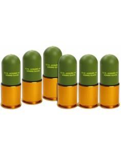 Pack 6 granadas ics 158