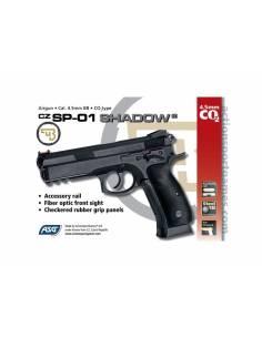 Pistola CZ SP-01 SHADOW -No Blow-Black 4,5 mm Co2